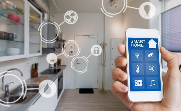 Smart homes for household tasks automation